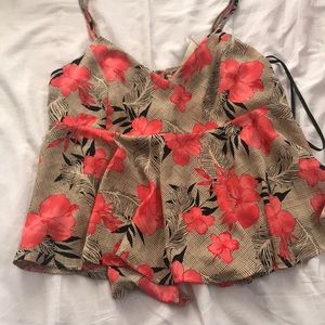 Forever 21 Tropical Floral Cami